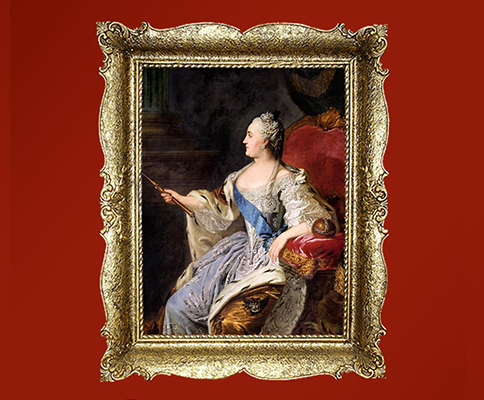 Catherine the Great Exhibit through May 2017 @ Erotic Heritage Museum