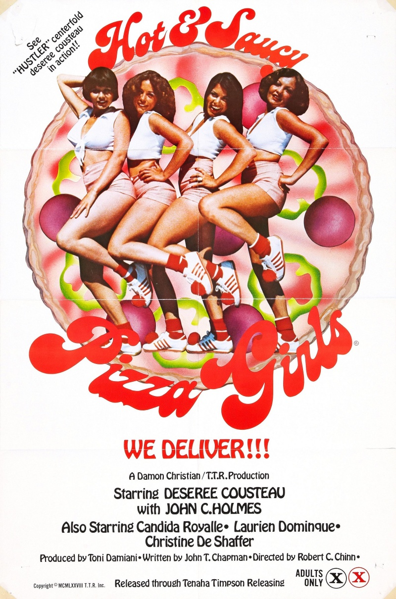 Z - Hot and Saucy Pizza Girls Collectors Poster