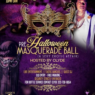 Halloween Masquerade Ball - October 26th, 2019